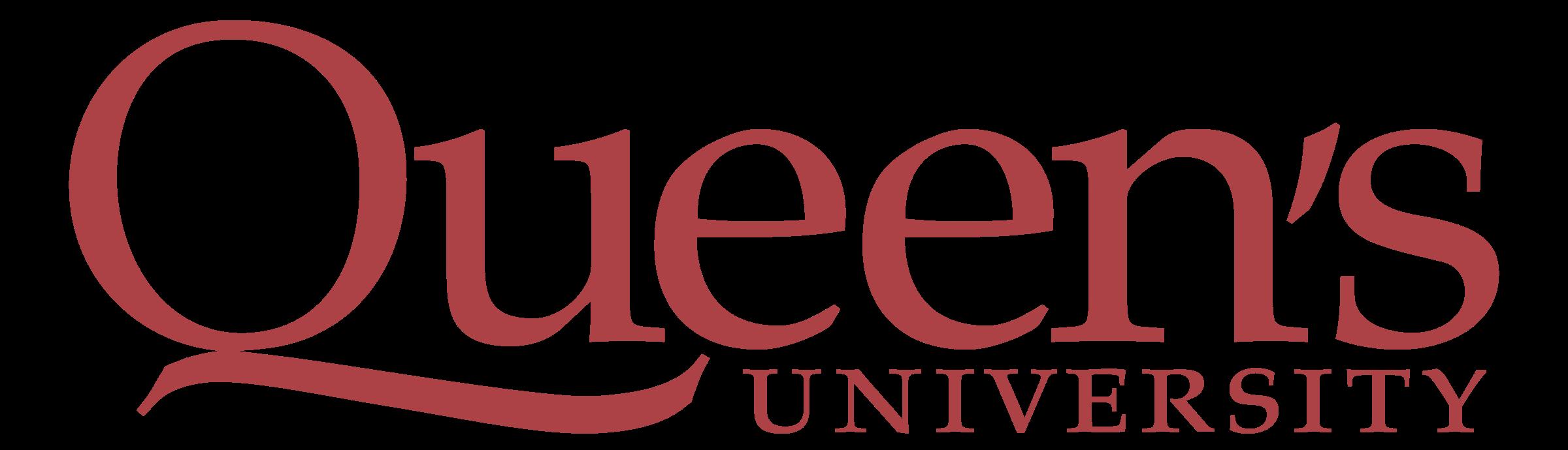 Queen's University logo Kingston Ontario Canada